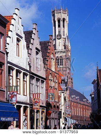Shopping Street, Bruges.