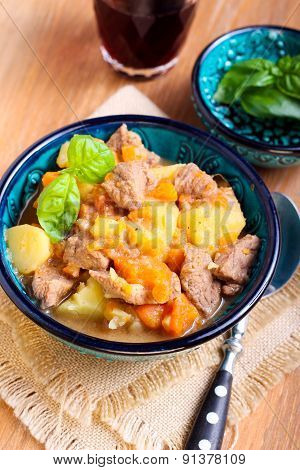 Beef, Carrot And Potato Stew