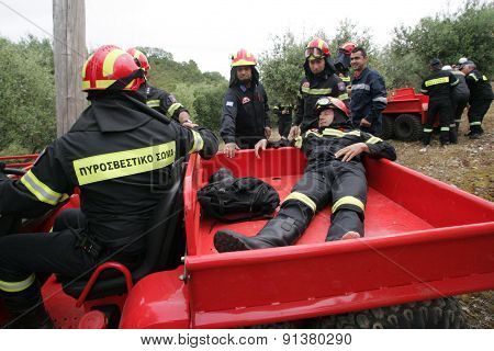 :pan-european Exercise Of The Fire Brigade