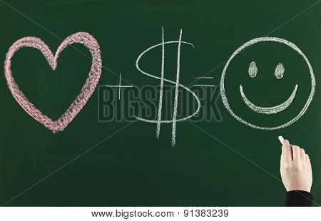 love and money makes you happy