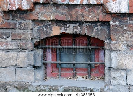 Medieval Grilled Window