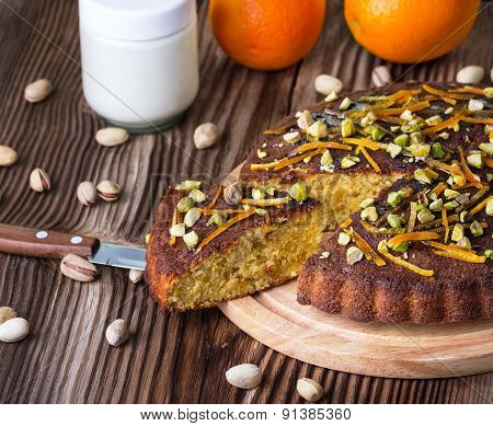 Pie With Pistachios