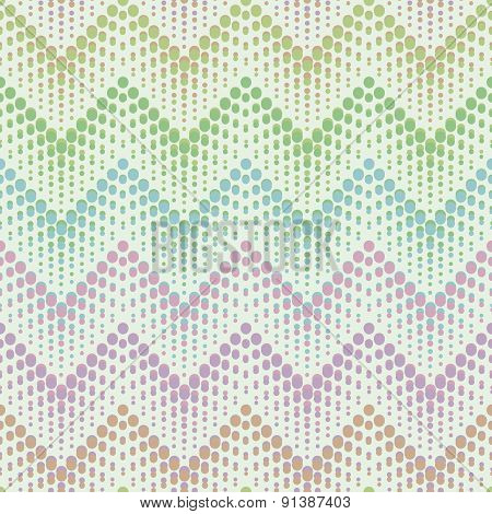 Herringbone flyspecked seamless pattern