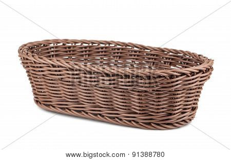 Braiding Small Wicker Basket