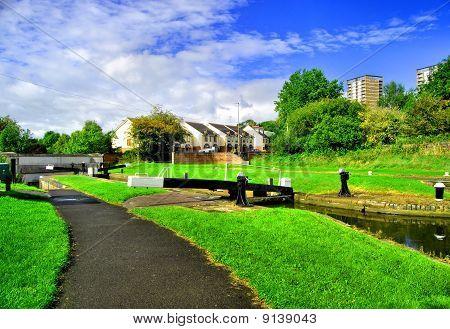 Canal Side Lock Gate