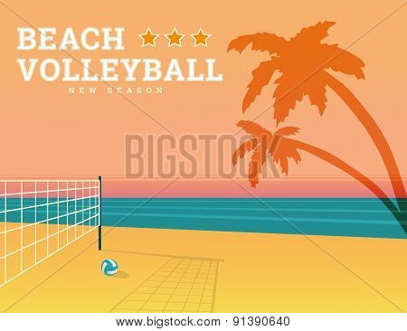 Beach volleyball season