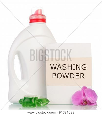 Washing powder and Cleaning item