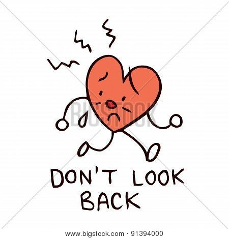 don't look back broken heart