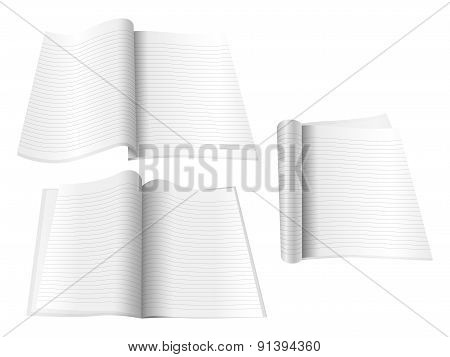 Blank Notepads