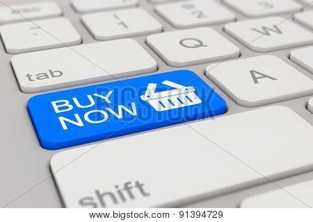 Keyboard - Buy Now - Blue