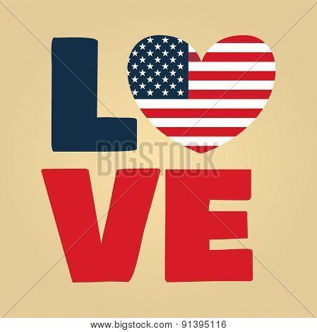 Love Usa Amerika