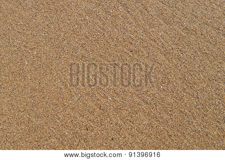 Pattern of golden sand grains