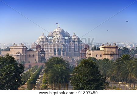 temple Akshardham Delhi India