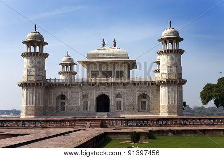 Itmad-Ud-Daulah's Tomb (Baby Taj) at Agra Uttar Pradesh India