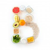 pic of letter b  - healthy eating - JPG