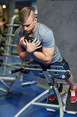 image of abdominal muscle  - sport - JPG