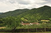 foto of apennines  - Italian countryside between Firenze and Bologna  - JPG
