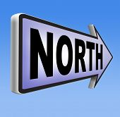foto of north-pole  -  north geographical compass direction north pole 
