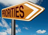 pic of priorities  - priorities important very high urgency info highest importance crucial information top priority dont forget - JPG