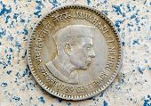 pic of prime-minister  - vintage coin depicting India - JPG