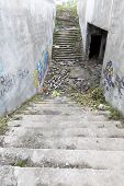 foto of underpass  - Abandoned underpass under a main street in a Sofia - JPG