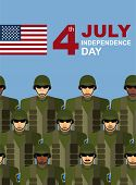 picture of army soldier  - 4th july - JPG