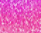picture of color geometric shape  - Vector Abstract pink color geometric background  - JPG