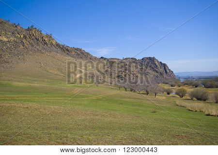 Beautiful nature of Buryatia in the summer ** Note: Soft Focus at 100%, best at smaller sizes