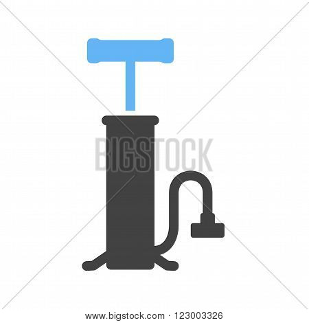 Pump, air, bicycle icon vector image. Can also be used for tools. Suitable for use on web apps, mobile apps and print media.