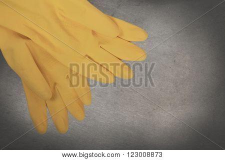 Vintage Image - Cleaning Gloves
