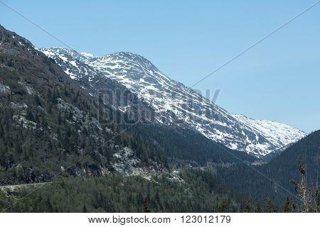 View of Alaska's White Pass and Yukon Route