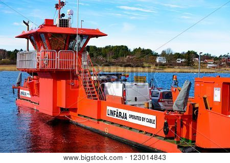 Cable Operated Ferry