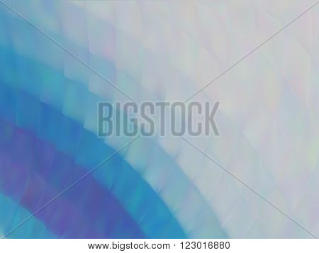 Vector illusion of radial blur effect. Abstract background with iridescent mesh gradient. Colorful noise, special effect. Inspired by impressionism. Colorful shades. Visual illusion of oil paintings