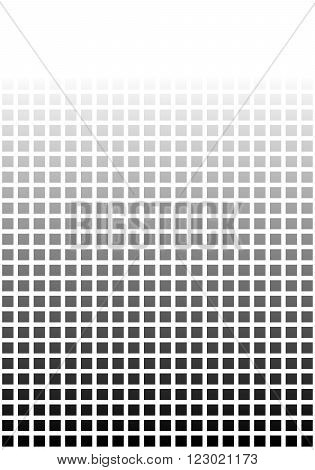 Black and white pixel background with soft transition