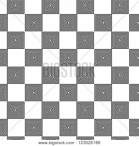 seamless background pattern - an abstract chessboard. vector illustration