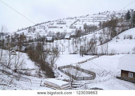 authentic ukrainian village