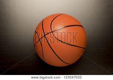 Basketball used for competitive sport and recreation.