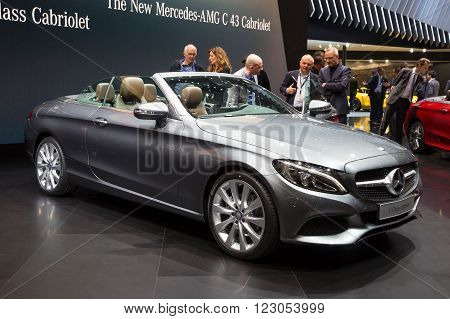 Mercedes C-class Cabriolet, Mercedes-amg C43 Cabriolet