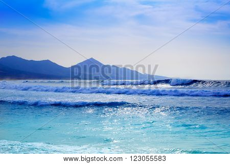 Cofete Fuerteventura Barlovento beach at Canary Islands of Spain