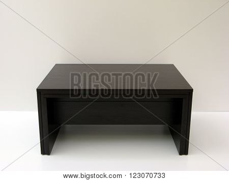 black wood folding transformer coffee dinner table