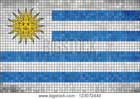 Flag of Uruguay - Illustration, 
