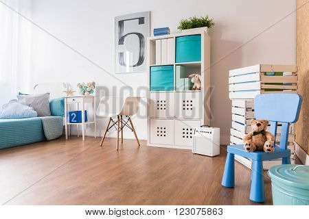 Big Space For Playing In Room