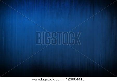 grunge blue metal plate