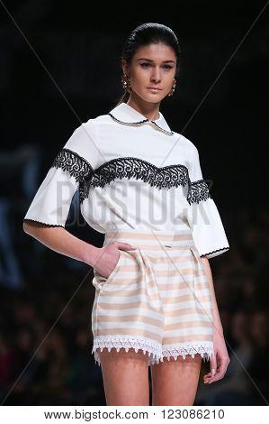 Bipa Fashion Show: Aman, Zagreb, Croatia.