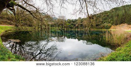 Small Lake In Greece