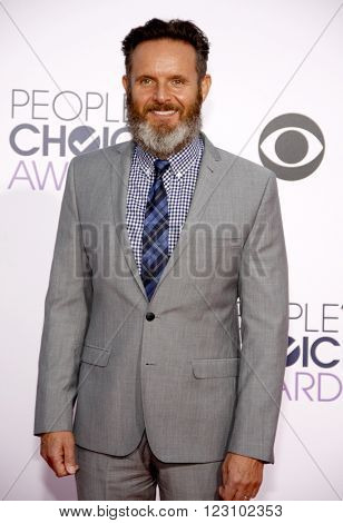 Mark Burnett at the 41st Annual People's Choice Awards held at the Nokia L.A. Live Theatre in Los Angeles on January 7, 2015.