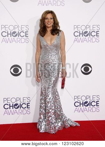 Allison Janney at the 41st Annual People's Choice Awards held at the Nokia L.A. Live Theatre in Los Angeles on January 7, 2015.
