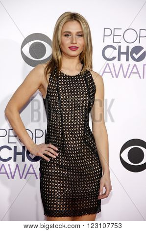 Rita Volk at the 41st Annual People's Choice Awards held at the Nokia L.A. Live Theatre in Los Angeles on January 7, 2015.
