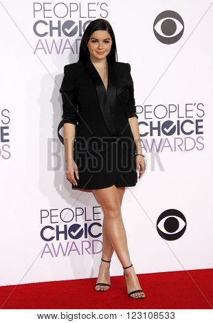 Ariel Winter at the 41st Annual People's Choice Awards held at the Nokia L.A. Live Theatre in Los Angeles on January 7, 2015.