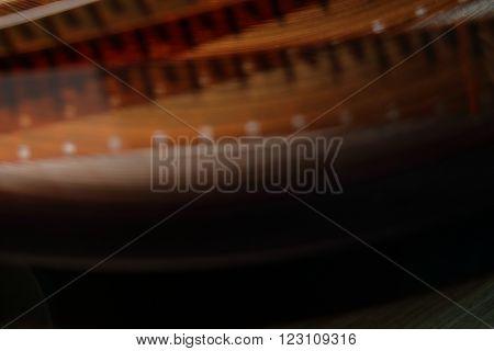 Film background 16 mm. blurred motion film reel.